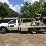 PWD's new DrillMax drilling rig.